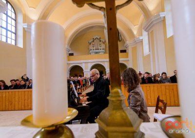 Pozele de la cel de-al doilea concert de pian din istoria Cetății Oradea