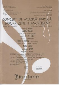 2010. december 16., csütörtök Filharmóniai koncertműsor füzet