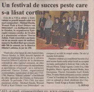 2010. október 22., péntek, Crisana, 2.oldal