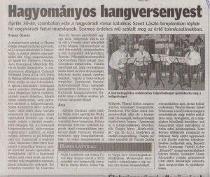 2011. május 3., kedd, Bihari Napló, 4.oldal