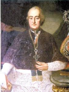 Báró Patachich Ádám portréja